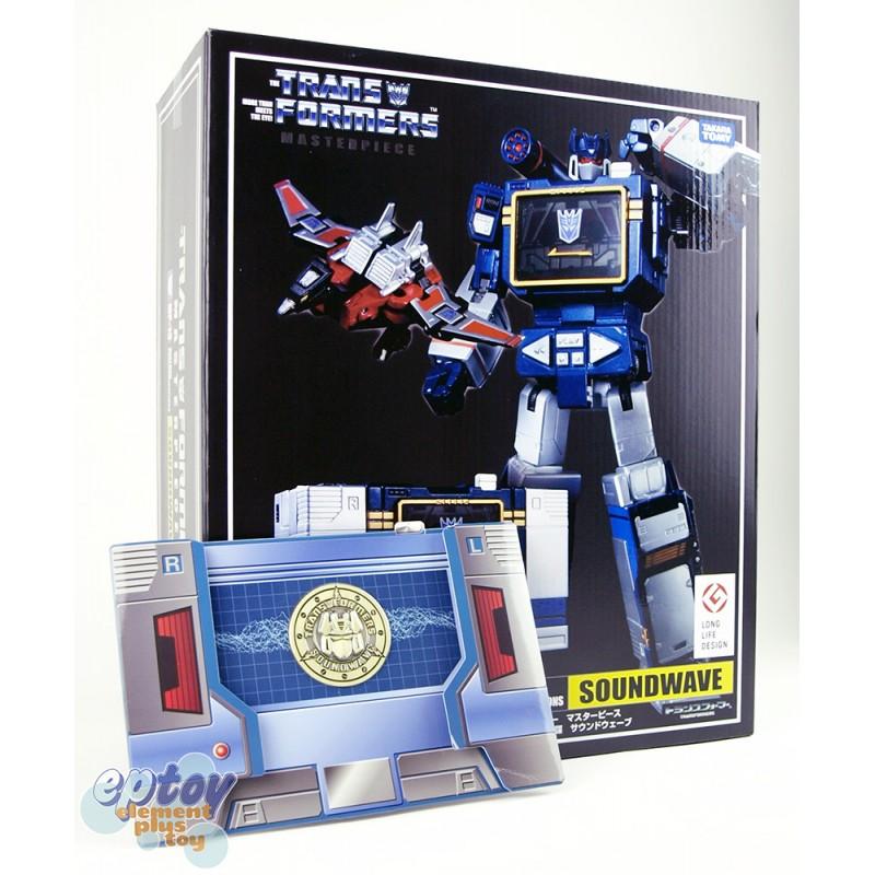 Transformers Masterpiece MP-13 Soundwave destron comunicazione KO VER IN MAGAZZINO