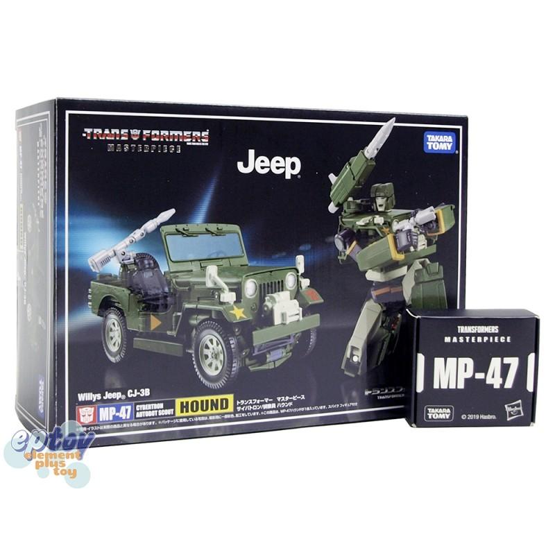 Transformers Masterpiece MP-47 Willy Jeep CJ-3B Hound