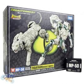 Transformers Masterpiece MP-50 Cybertron Polar Scout Tigatron Beast Wars
