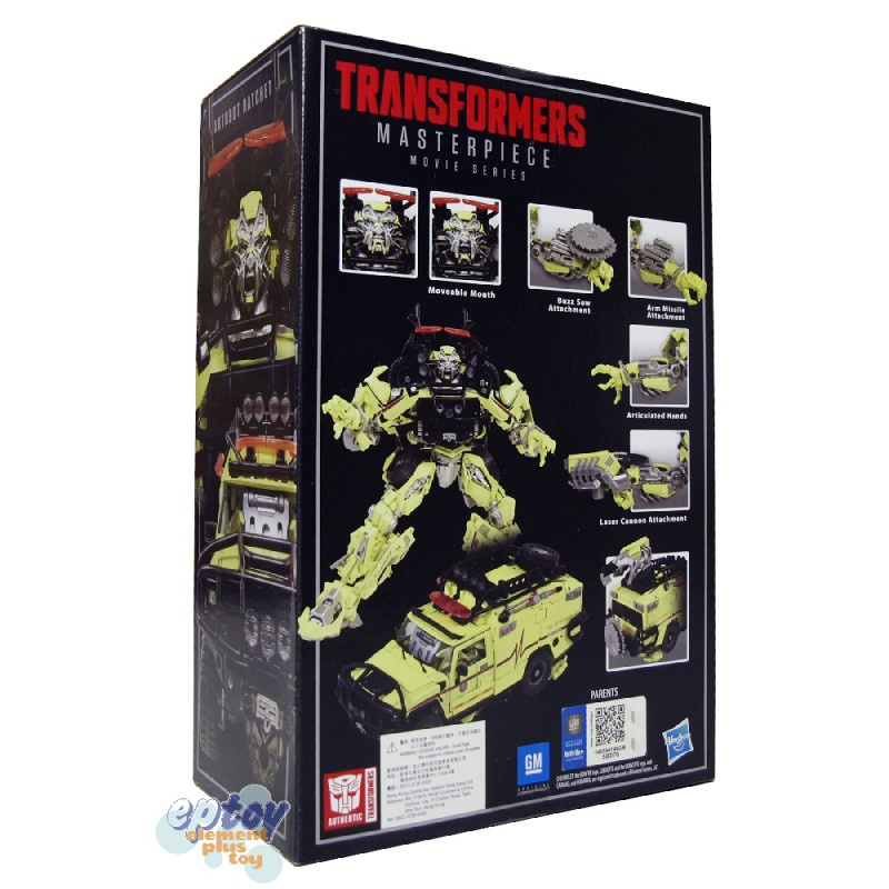 Transformers Masterpiece Movie Series MPM-11 Autobot Ratchet