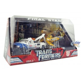 Transformers Screen Battles Final Stand Longarm & Bumblebee