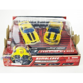 Transformers Movie Evolution of a Hero Bumblebee Classic Camaro & Camaro Concept