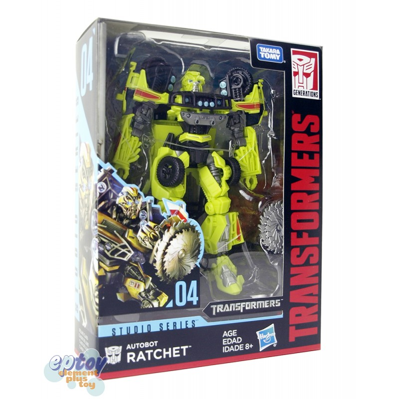 Transformers Studio Series 04 Deluxe Class Autobot Ratchet