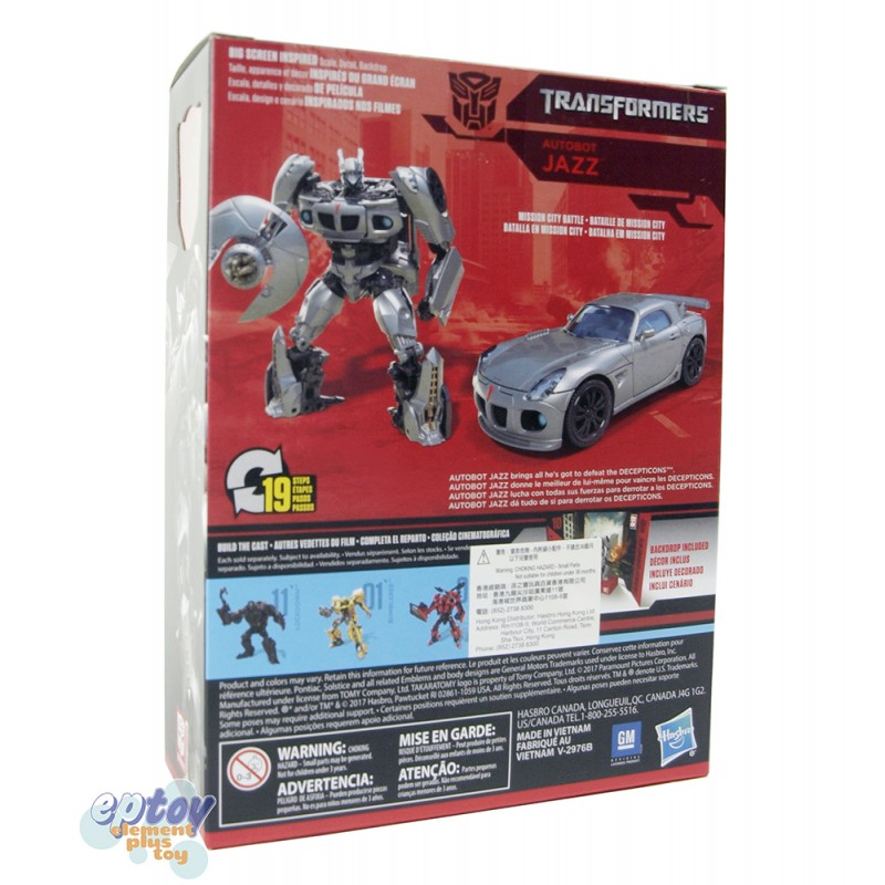 Transformers Studio Series 10 Deluxe Class Autobot Jazz