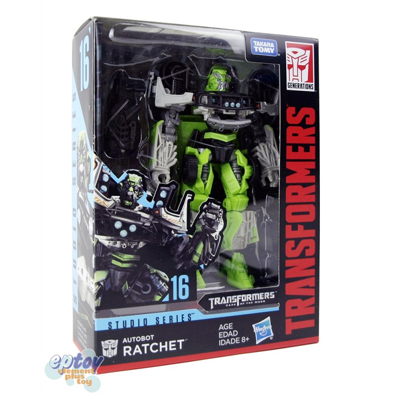 Transformers Studio Series 16 Deluxe Class Autobot Ratchet