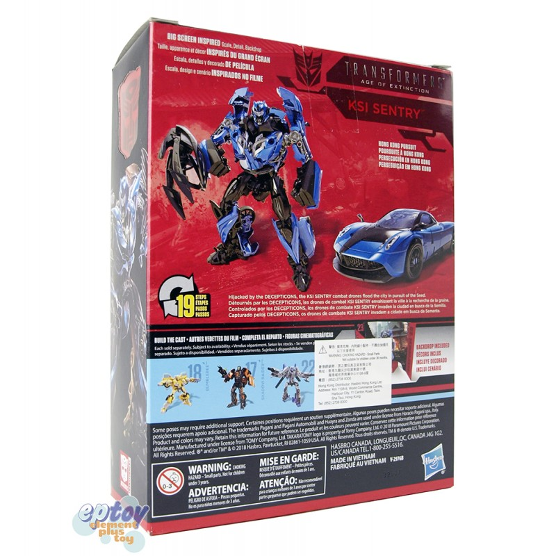 Transformers Studio Series 23 Deluxe Class Ksi Sentry