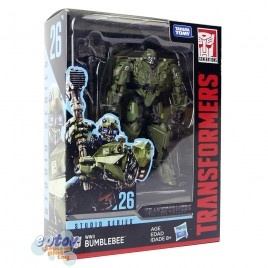 Transformers Studio Series Deluxe Class 26 WWII Flashback Bumblebee