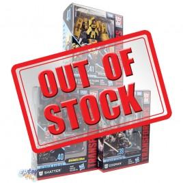 Transformers Studio Series Deluxe Class Cogman Shatter Constructicon Scrapmetal Set