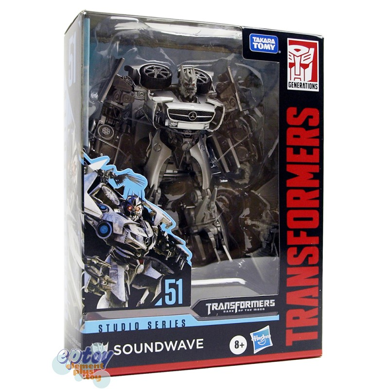 Transformers Studio Series Deluxe Class SS-51 Mercedes-Benz Soundwave