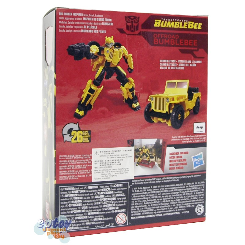 Transformers Studio Series Deluxe Class SS-57 Offroad Bumblebee SS-58 Roadbuster SS-59 Shatter Set