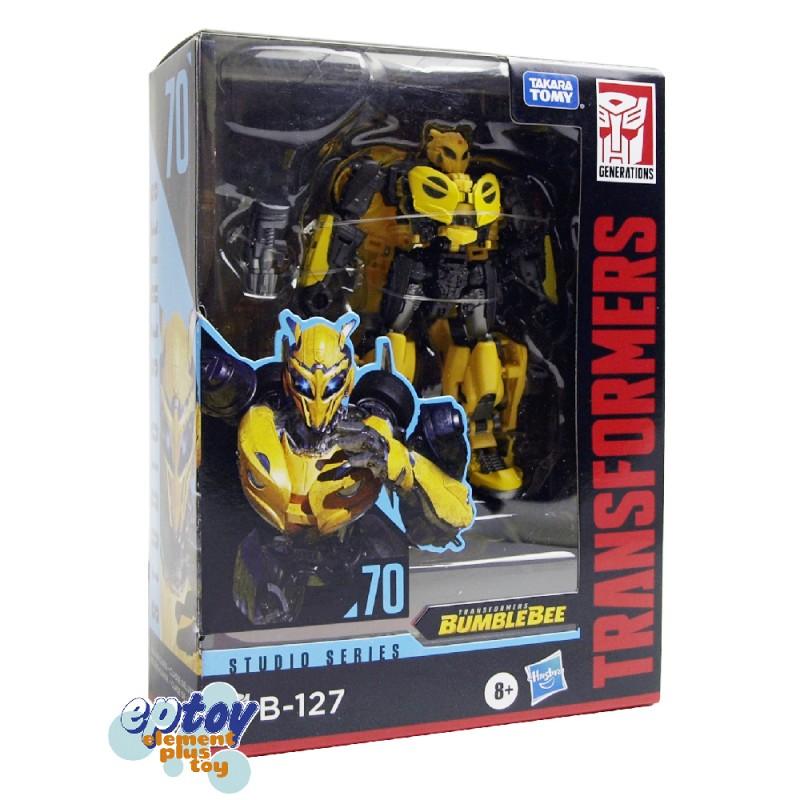 Transformers Studio Series Deluxe Class SS-70 Bumblebee B-127 SS-71 Dino Set