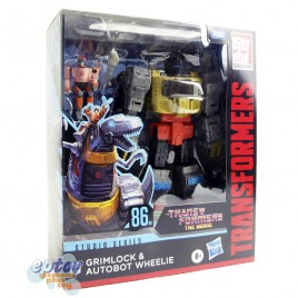 Transformers The Move Studio Series Leader Class SS-86 06 Grimlock & Autobot Wheelie