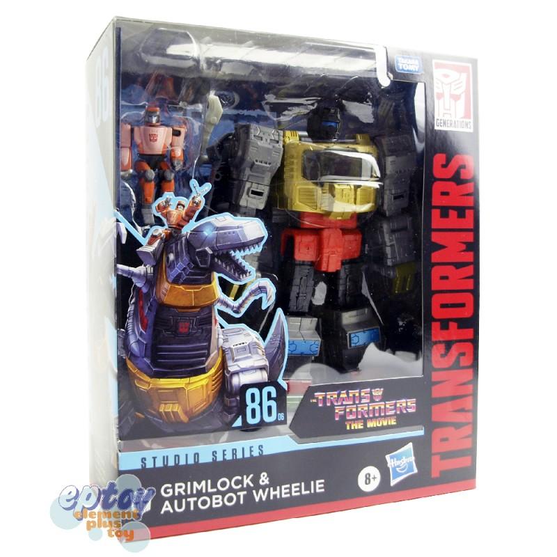 Transformers The Move Studio Series Leader Class SS-86 06 Grimlock & Autobot Wheelie