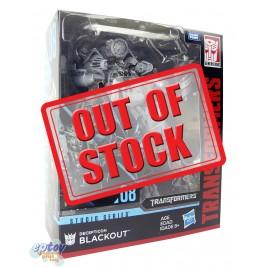 Transformers Studio Series 08 Leader Class Decepticon Blackout