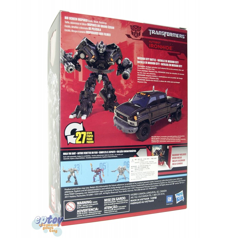 Transformers Studio Series Voyager Class 14 Autobot Ironhide