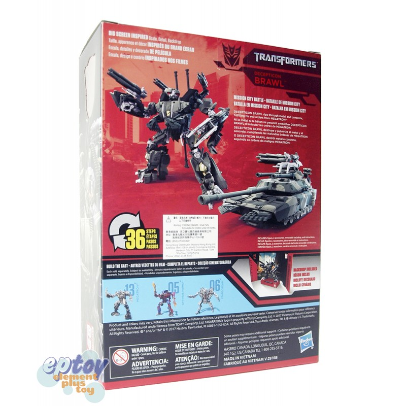 Transformers Studio Series Voyager Class 12 Brawl & 13 Megatron Set