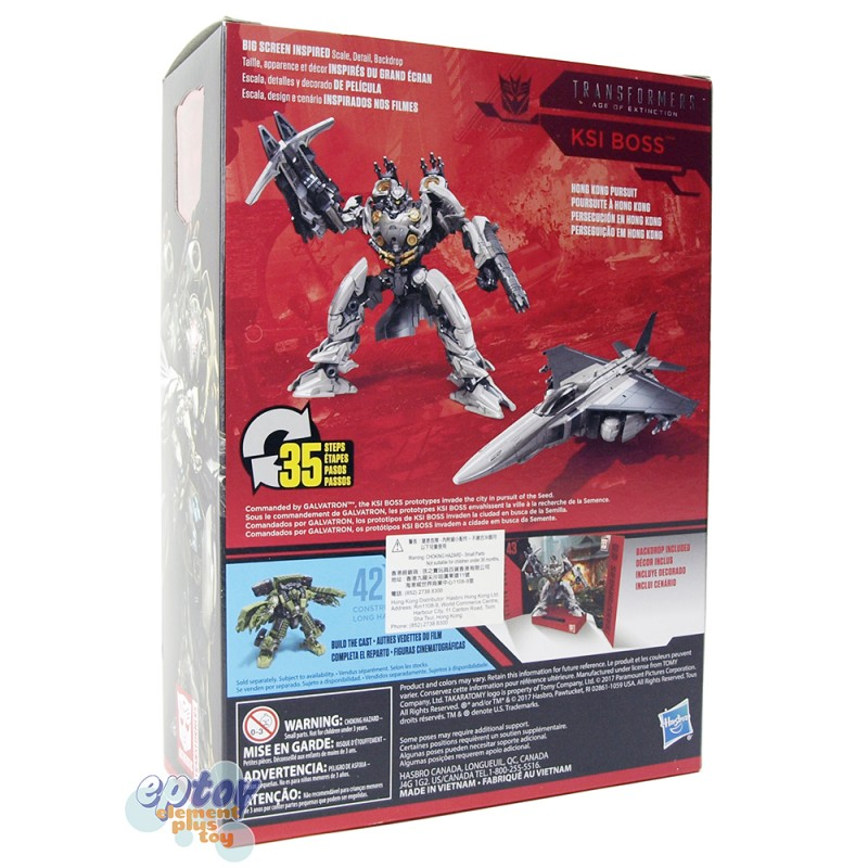 Transformers Studio Series Voyager Class SS-42 Long Haul SS-43 Ksi Boss Set