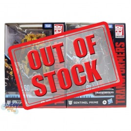 Transformers Studio Series Voyager Class SS-60 Scrapper SS-61 Sentinel Prime