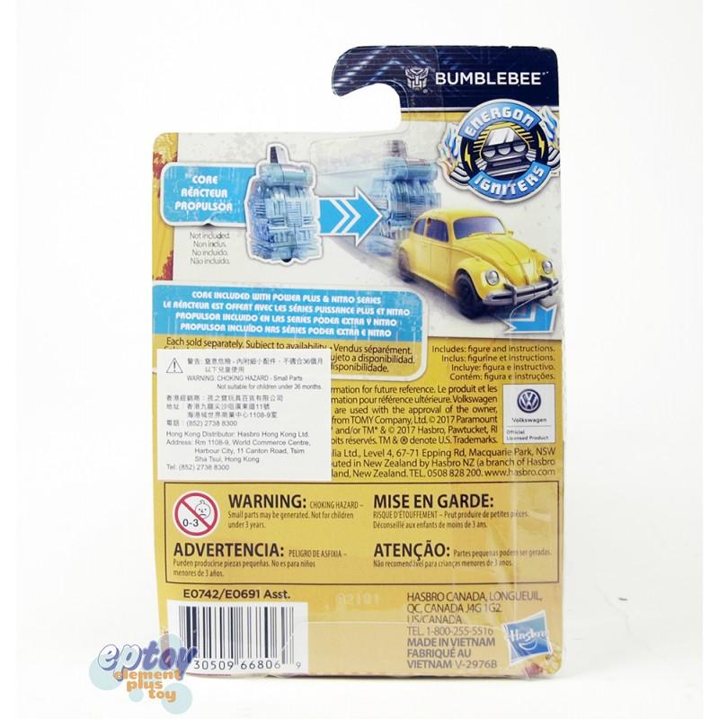 Transformers Movie Energon Igniters Speed Series VW Beetle Bumblebee
