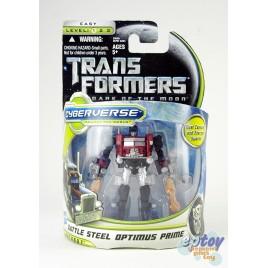 Transformers Movie 3 Commander Class Battle Steel Optimus Prime