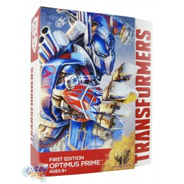 Transformers Movie 4 Age of Extinction Leader Class Optimus Prime First Edition