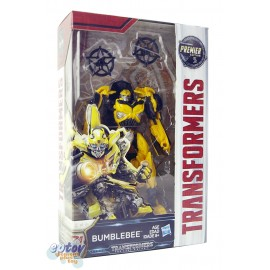 Transformers Movie 5 The Last Knight Deluxe Class Bumblebee Premier Edition