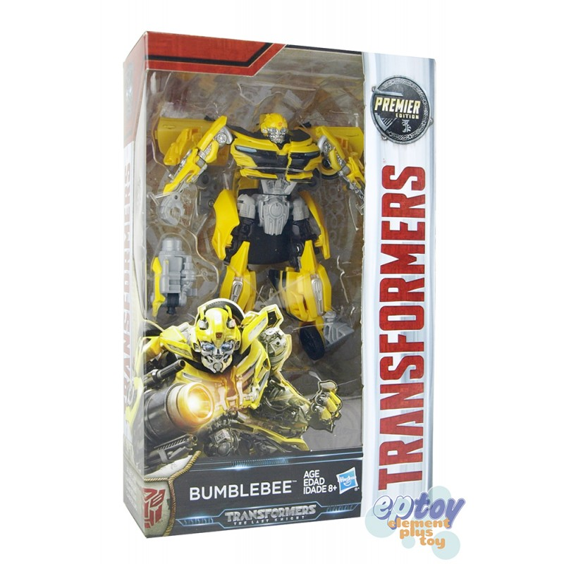 Transformers Movie 5 The Last Knight Deluxe Class New Bumblebee Premier Edition