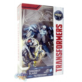 Transformers Movie 5 The Last Knight Deluxe Class Dinobot Slash Premier Edition