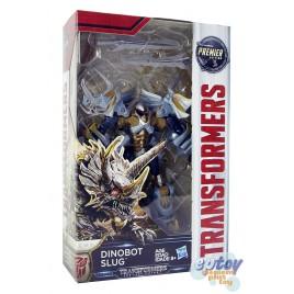 Transformers Movie 5 The Last Knight Deluxe Class Dinobot Slug Premier Edition