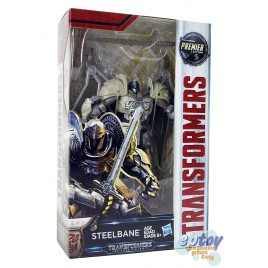 Transformers Movie 5 The Last Knight Deluxe Class Steelbane Premier Edition