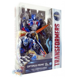 Transformers Movie 5 The Last Knight Voyager Class Optimus Prime Premier Edition