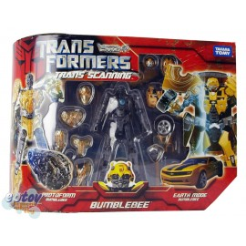 Transformers Movie Trans Scanning Bumblebee