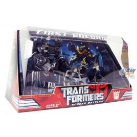 Transformers Screen Battles First Encounter Barricade