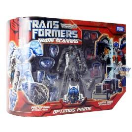 Transformers Movie Trans Scanning Optimus Prime