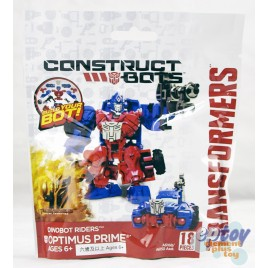 Transformers Movie 4 Construct Bots Dinobot Riders Optimus Prime