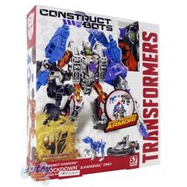Transformers Movie 4 Construct Bots Lockdown & Hangnail Dino