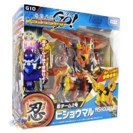Transformers Go G-10 Shinobi Team 02 Hishoumaru