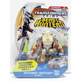 Transformers Prime Beast Hunters Deluxe Class Autobot Ratchet