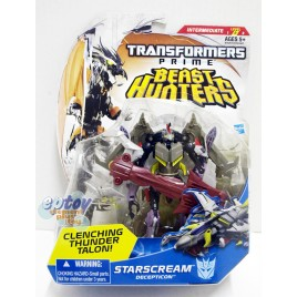 Transformers Prime Beast Hunters Deluxe Class Starscream