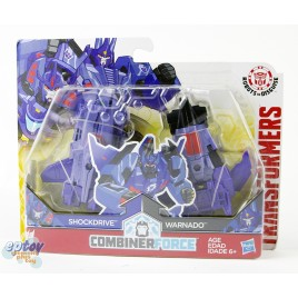Transformers RID Combiner Force Crash Combiners Shocknado Shockdrive & Warnado