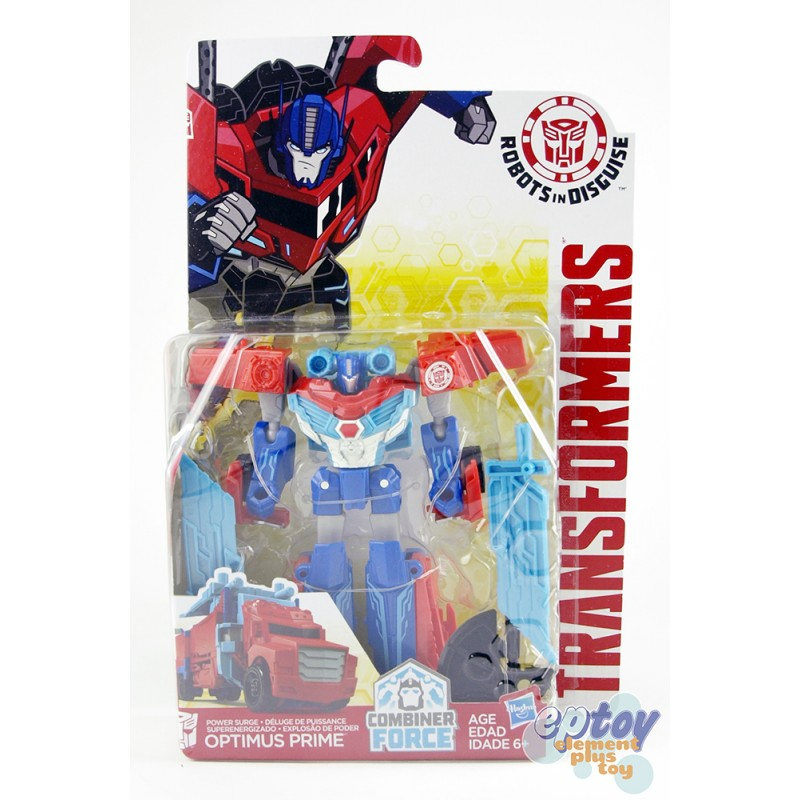 Transformers RID Combiner Force Warriors Class Power Surge Optimus Prime