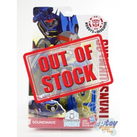 Transformers RID Combiner Force Warriors Class Soundwave