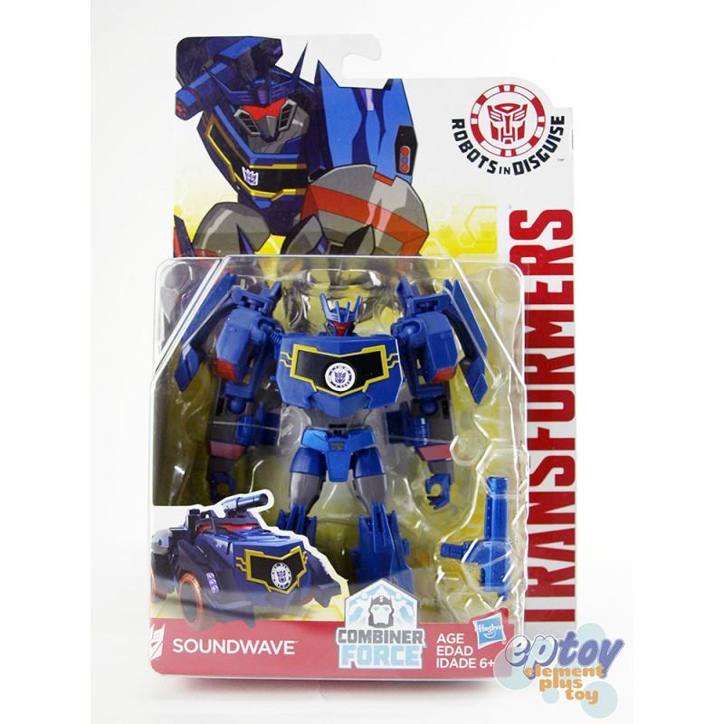 Transformers RID Combiner Force Warriors Class Soundwave