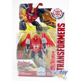 Transformers RID Combiner Force Warriors Class Autobot Twinferno
