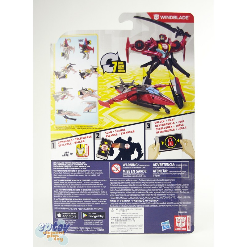 Transformers RID Combiner Force Warriors Class Windblade