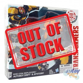 Transformers RID Robots in Disguise Mini-Con Deployers Drift & Jetstorm
