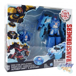 Transformers RID Robots in Disguise Mini-Con Deployers Blizzard Strike Drift & Jetstorm