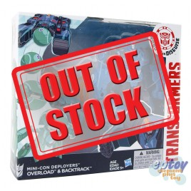 Transformers RID Robots in Disguise Mini-Con Deployers Overload & Backtrack