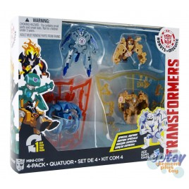 Transformers RID Mini-Con 4-Pack Undertone Backtrack Beastbox Swelter