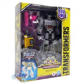 Transformers Build a Figure Maccadam Bumblebee Cyberverse Adventures Deluxe Class Megatron